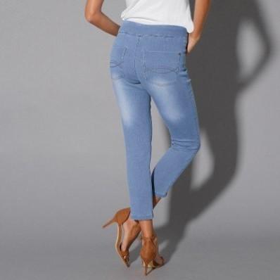3/4 džínsové nohavice