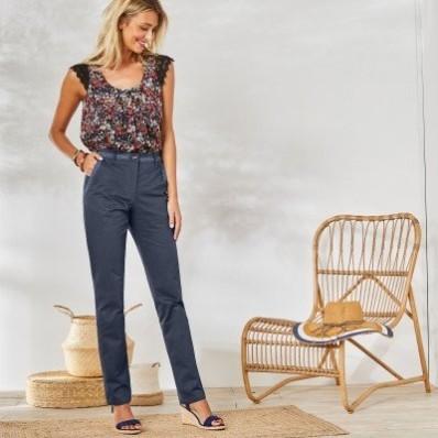 Chino macramé kalhoty