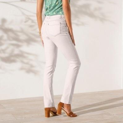 Rovné džínsy,  ekologické spracovanie