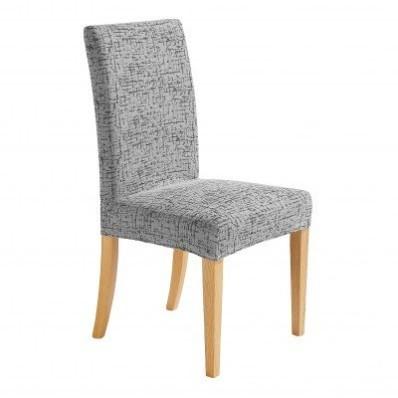 Pružný poťah na stoličku, melírovaný