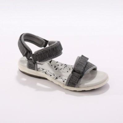 Športové sandále, sivé