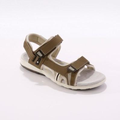 Športové sandále, béžové