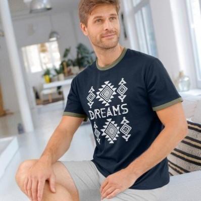 """Pyžamové tričko """"dreams"""" s krátkymi rukávmi"""