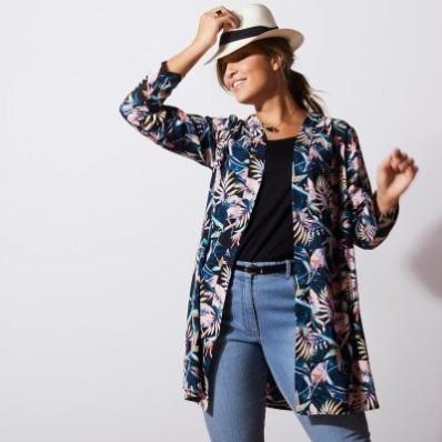Dlouhá kimono košile
