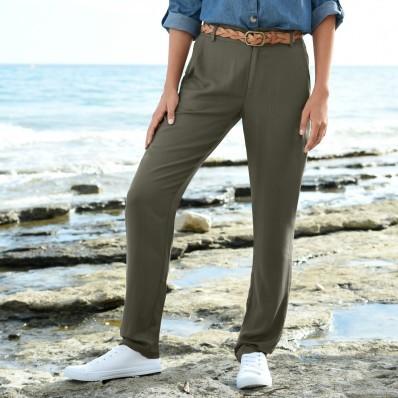 Nohavice zo vzdušnej viskózy