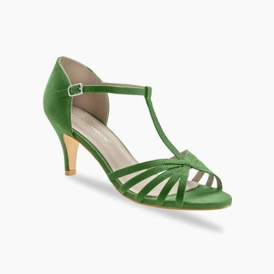 Topánky salomé na podpätku