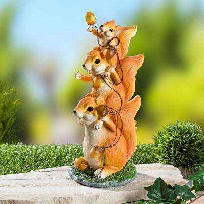 Veveričky so solárnou reťazou