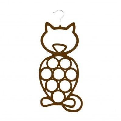 Ramínko na šátky ve tvaru kočky