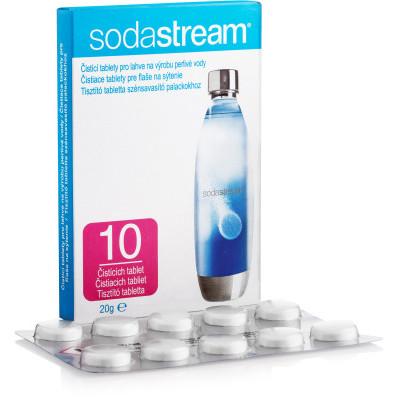 Čistiace tablety na fľaše sodastream