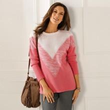 Žakárový originální pulovr