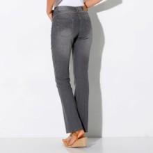 Rovné džínsy s push-up efektom, pre vyššiu postavu