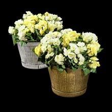 Vědra na květiny,2 ks