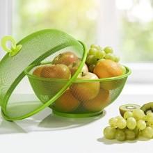 2-dielny kôš na ovocie, zelená