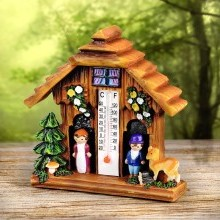 Čarovný domček s teplomerom