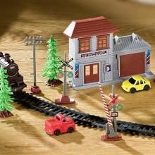 10dílné příslušenství k železnici