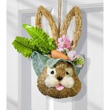 """Dekorace na dveře """"Zajíc"""""""