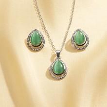 Súprava šperkov s opálmi