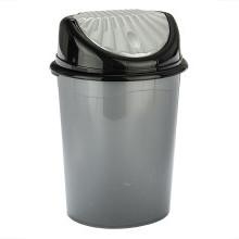 Kosz na śmieci z ruchomą pokrywą
