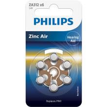 Baterie do aparatów słuchowych Phil-ZA312B6A