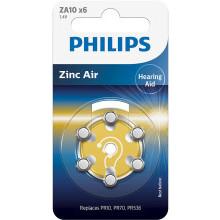 Baterie do aparatów słuchowych Phil-ZA10B6A/00