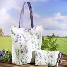 """2 tašky """"Levanduľa"""""""
