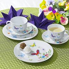"""6-dielny porcelánový servis """"Motýle"""""""