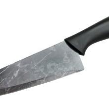 Nóż szefa kuchni  27,5cm czarny marmur