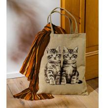"""Nákupná taška """"mačky"""""""