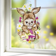 """Obrázek na okno """"Zajíček"""""""