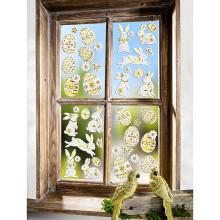 """10-dielny obrázok na okno """"Veľkonočné vajíčka"""""""