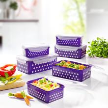 "12 potravinových boxů ""Puntíky"""
