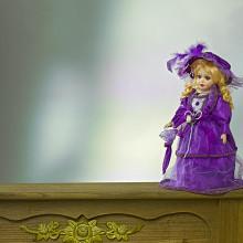"Porcelánová panenka ""Linda"""