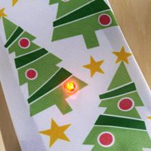 """Vianočná kravata, """"Jedľa"""""""
