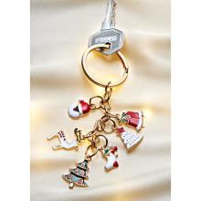 """Přívěsek na klíče """"Vánoční čas"""""""