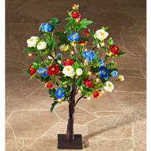 LED kvitnúci strom