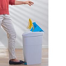 Kompaktowy kosz na śmieci
