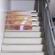 """12-dielna dekorácia na schody """"Vodopád"""""""