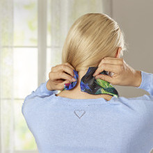 """Šátek s magnetickým uzávěrem """"Motýli"""""""