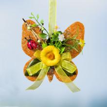 Sisalový motýl, žlutá