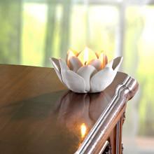 """1 svícen na čajovou svíčku """"Květ"""""""