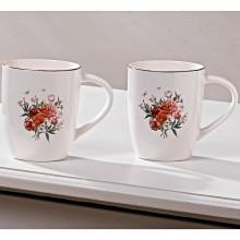 """Hrnek na kávu """"Květy"""""""