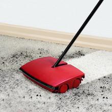 Szczotka do dywanów, czerwona