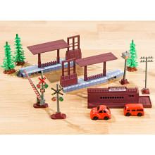 10dílná železniční stanice