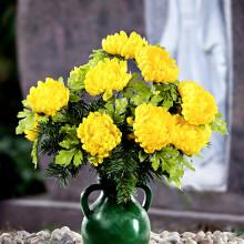 Kytice na hrob Chryzantémy