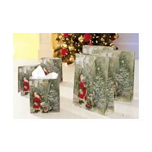 Świąteczne torebki na prezent