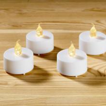 4 svíčky na baterie