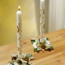 2 adventní svíčky