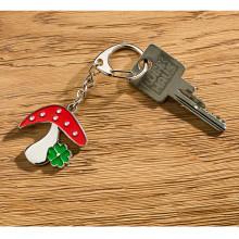 """Přívěsek na klíče """"Šťastná houba"""""""