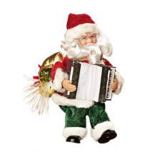 Santa s akordeonem