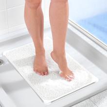 Sprchová rohož, bílá